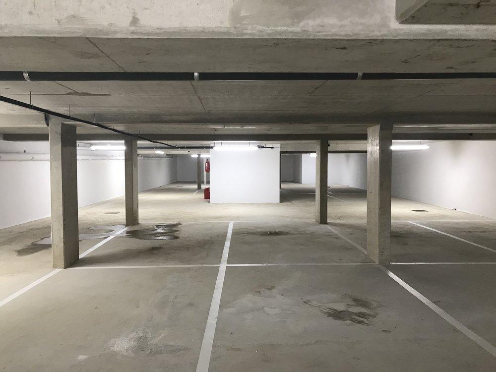 Emplacement de parking en sous sol