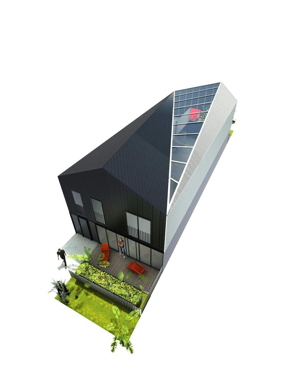 Coté Loft à vivre, à partir de 53m2, avec jardin privatif.