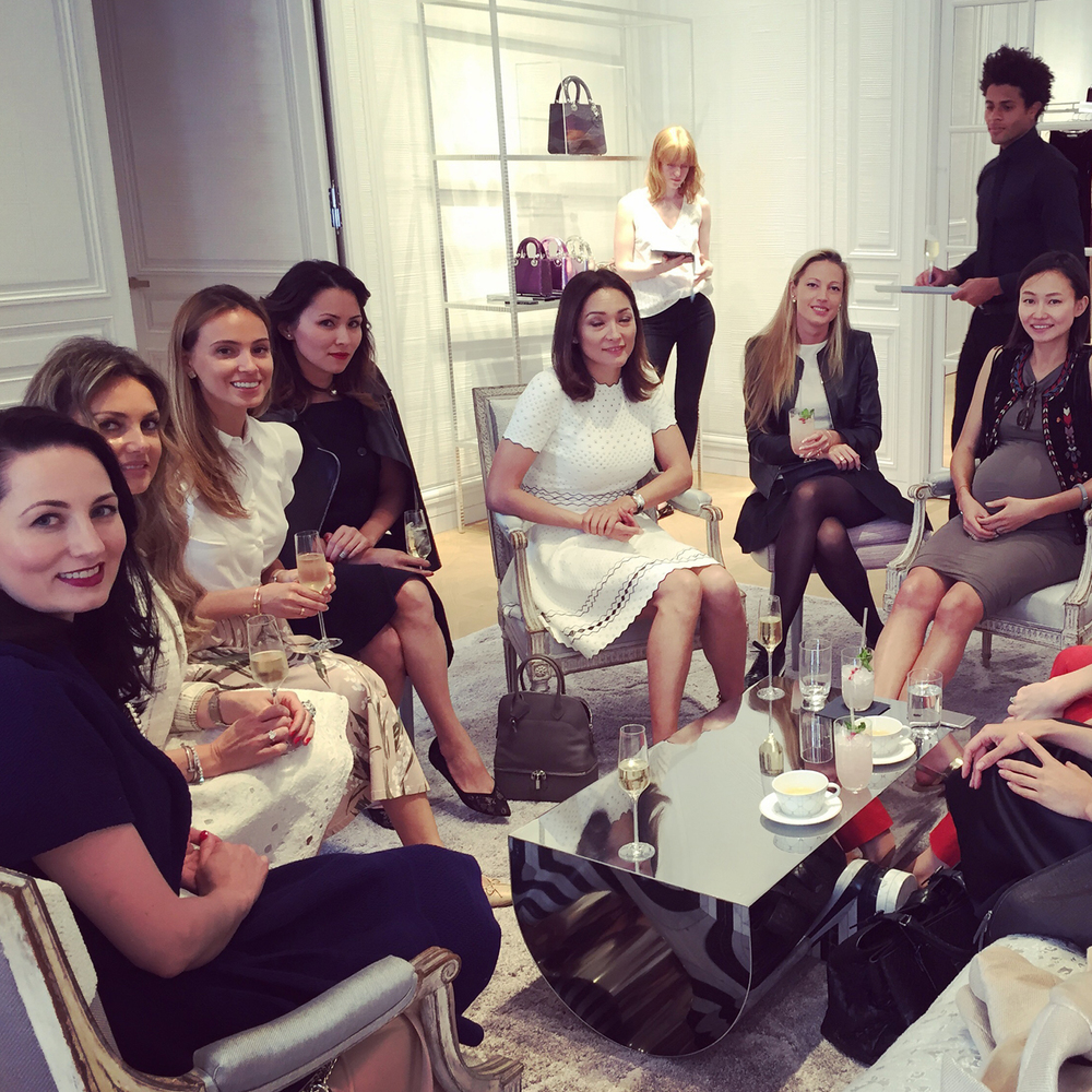 Afternoon Tea With Dior Art Collection Curator