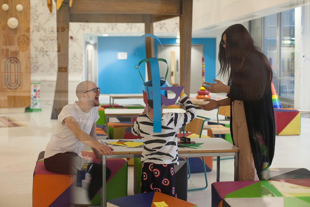 - We are helping children in the UK's largest children's hospital to engage with contemporary art and reflect on their own experiences through the work of Charles Avery, together with Art Night Festival and Vital Arts charity.