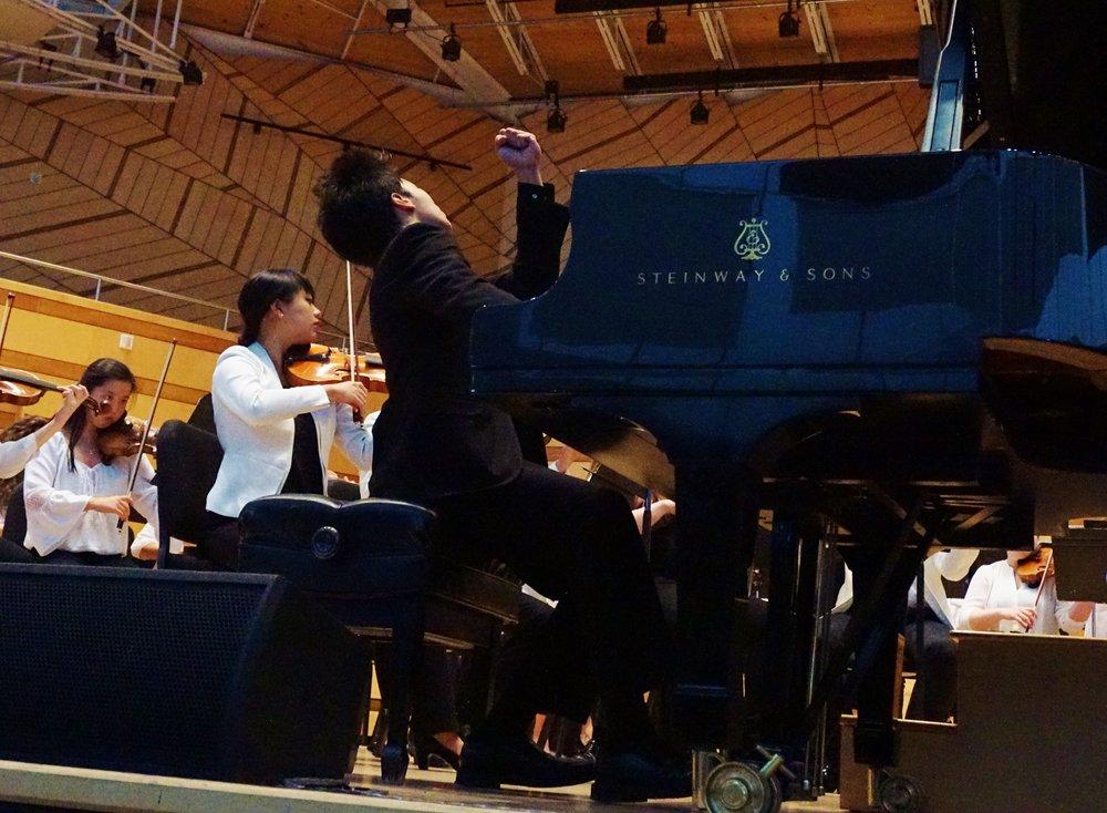 Tengku Irfan Robert Spano Bartok Piano Concerto
