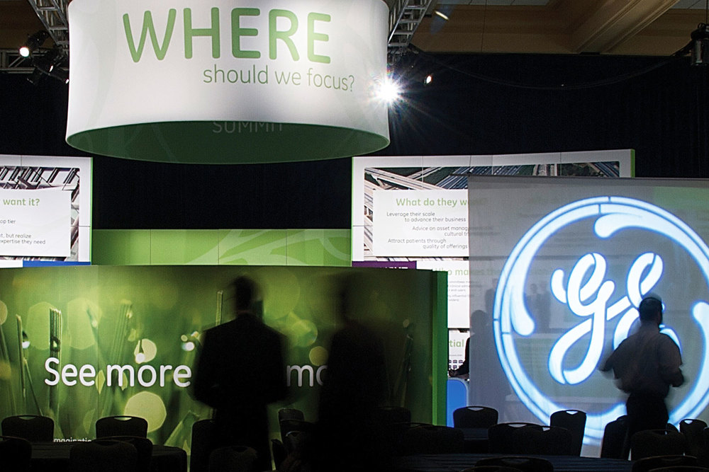 Ge Healthcare Americas Growth Summit: 5,000 square foot exhibit to inspire and engage the company's key leadership