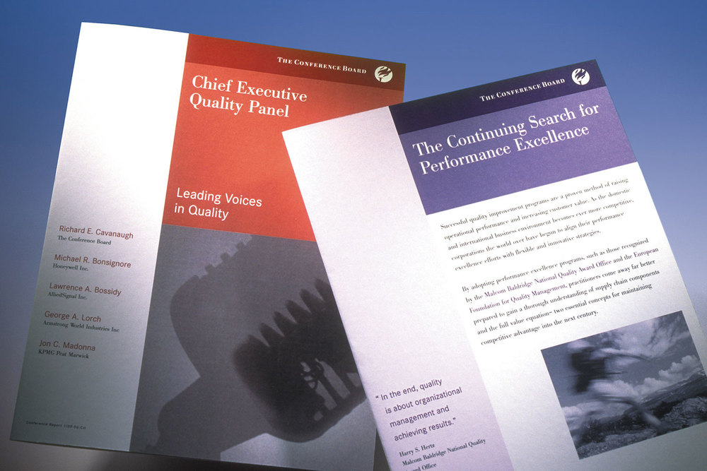The Conference Board brochure covers