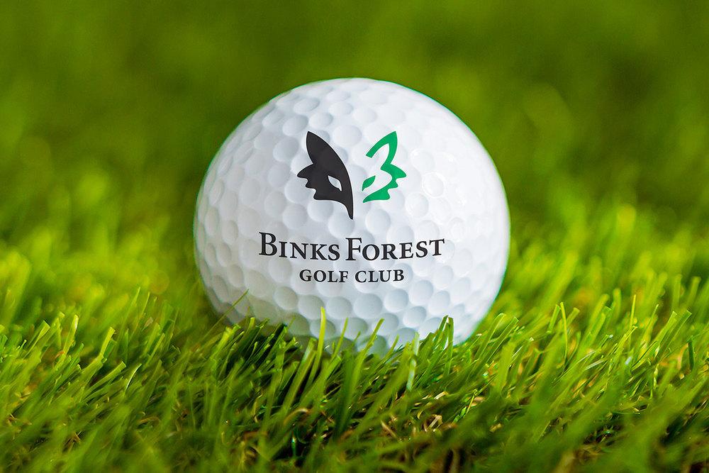 Binks Forest Golf Club golf ball