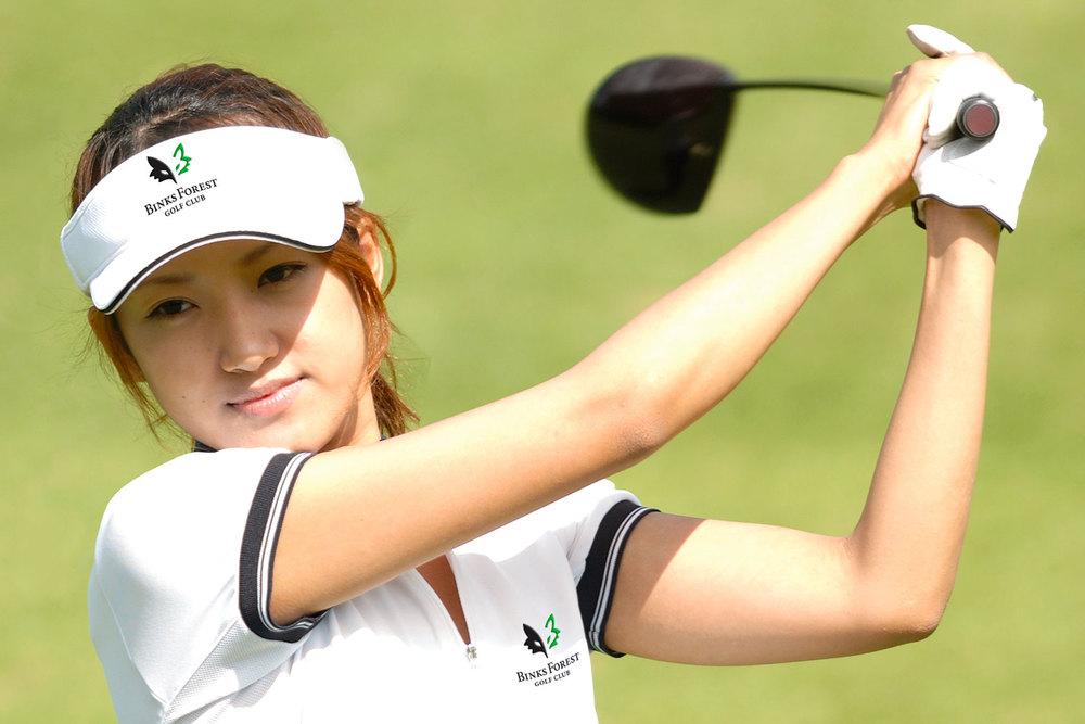 Binks Forest Golf Club female golfer