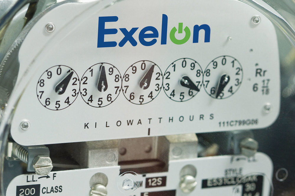 Exelon electrical meter