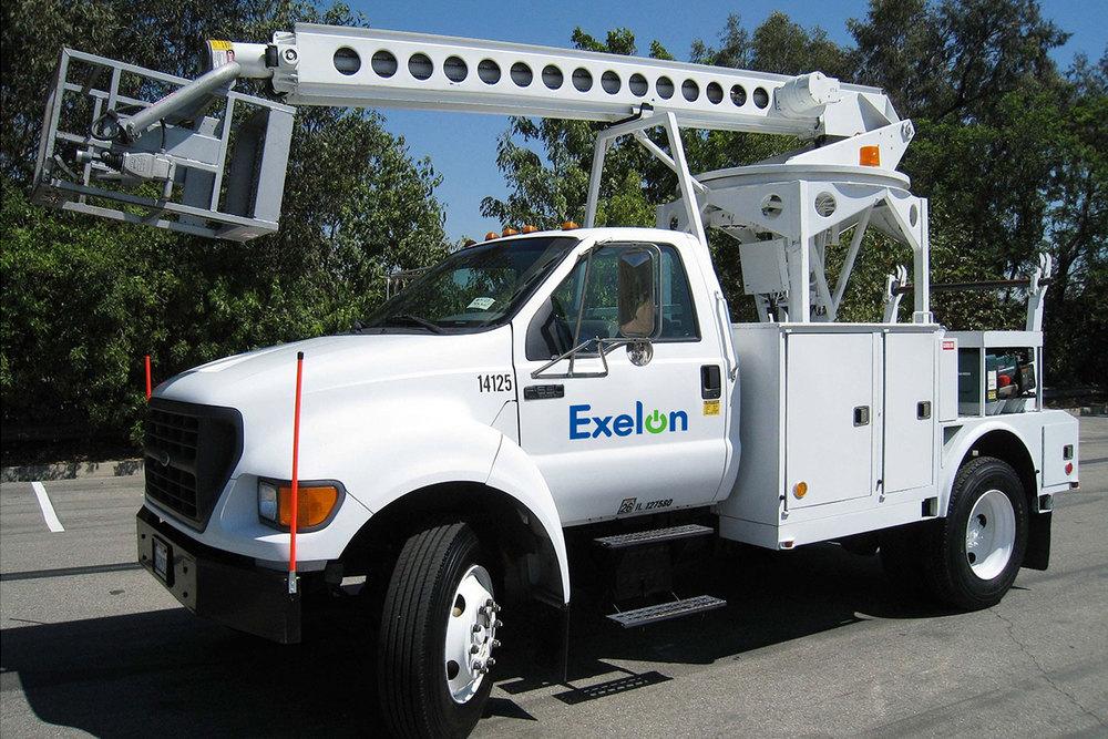 Exelon utility truck