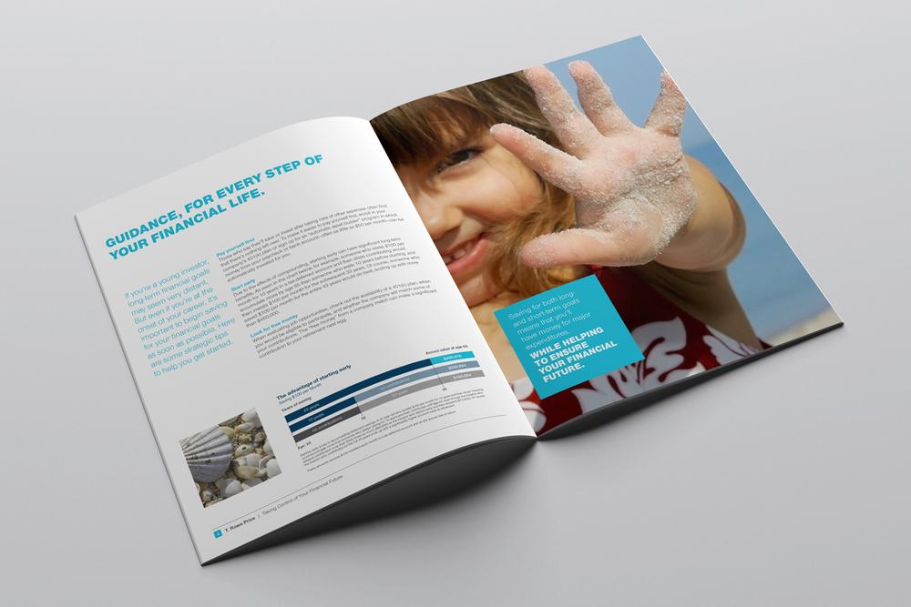 T. Rowe Price brochure, interior spread