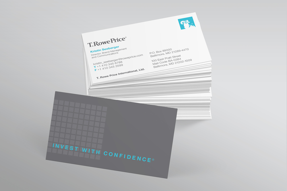 T. Rowe Price business cards
