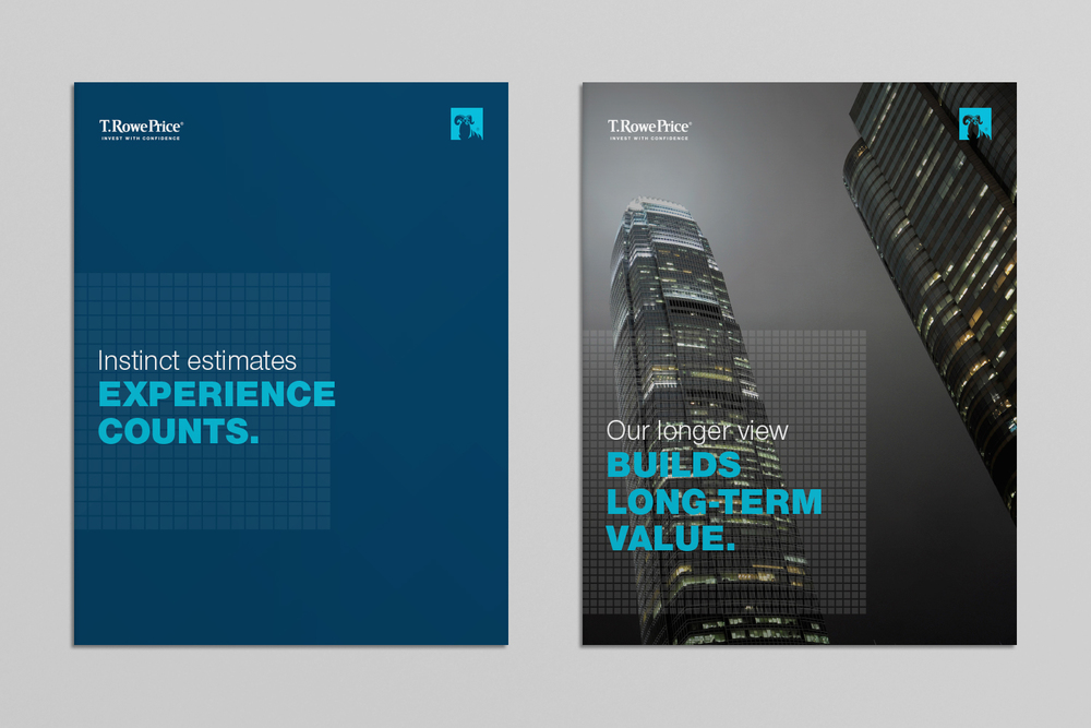 T. Rowe Price investment brochure covers