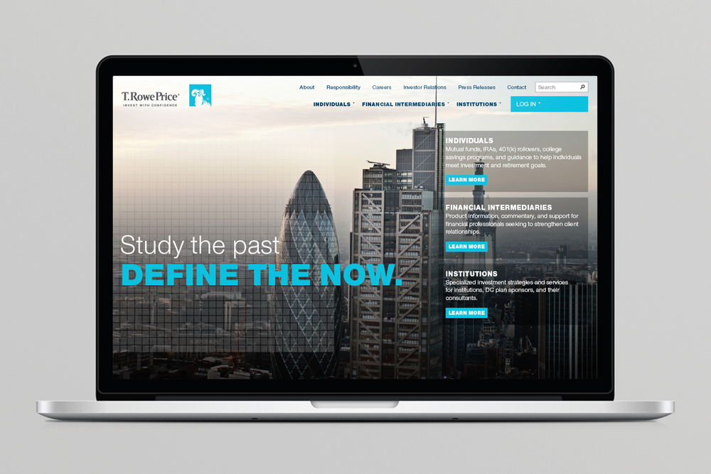 T. Rowe Price retirement home page