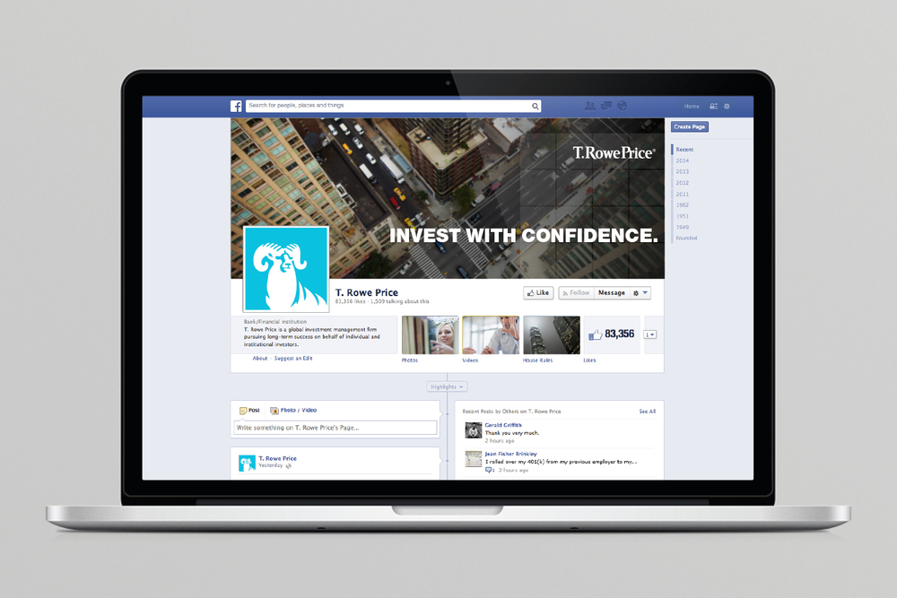 T. Rowe Price Facebook page