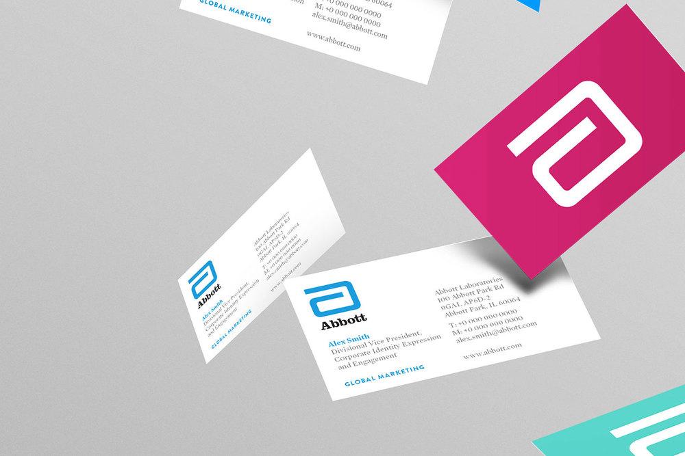 Abbott business cards