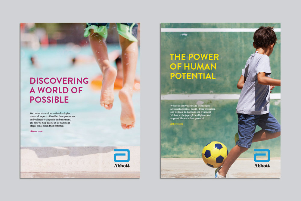 Abbott global awareness campaign ads