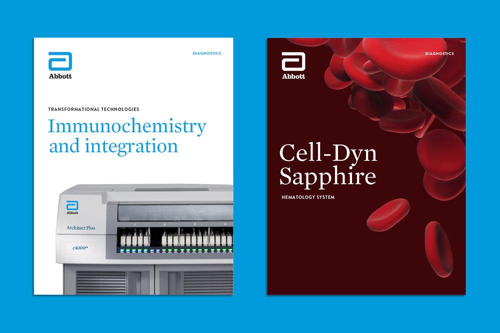 Abbott Diagnostics brochures