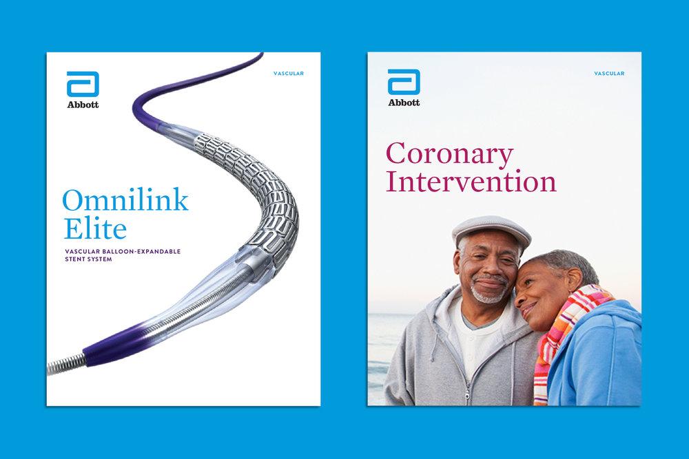 Abbott Vascular brochures