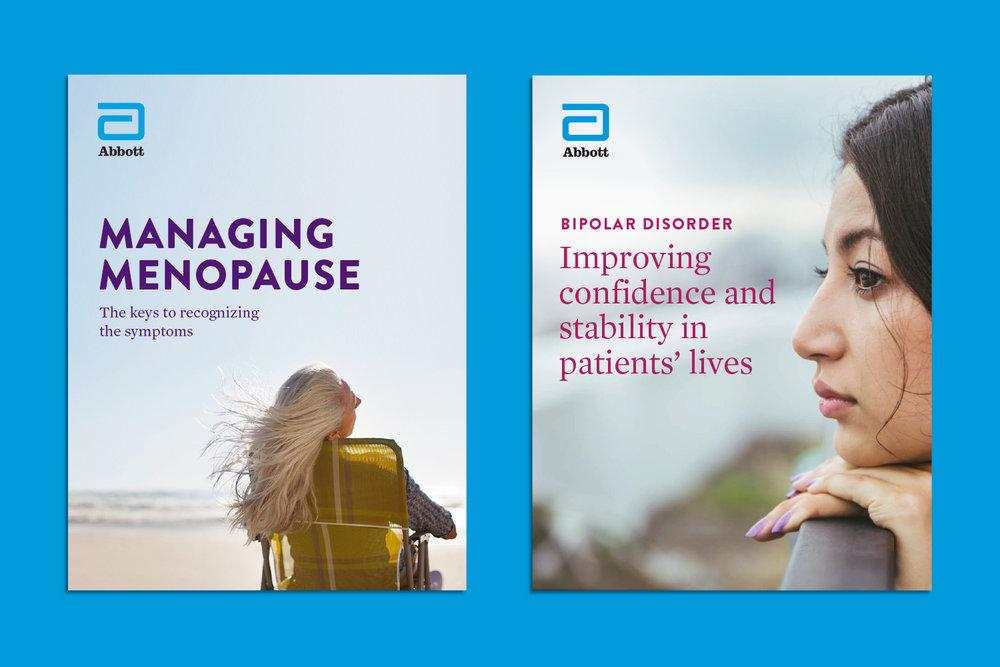 Abbott Women's Health brochures