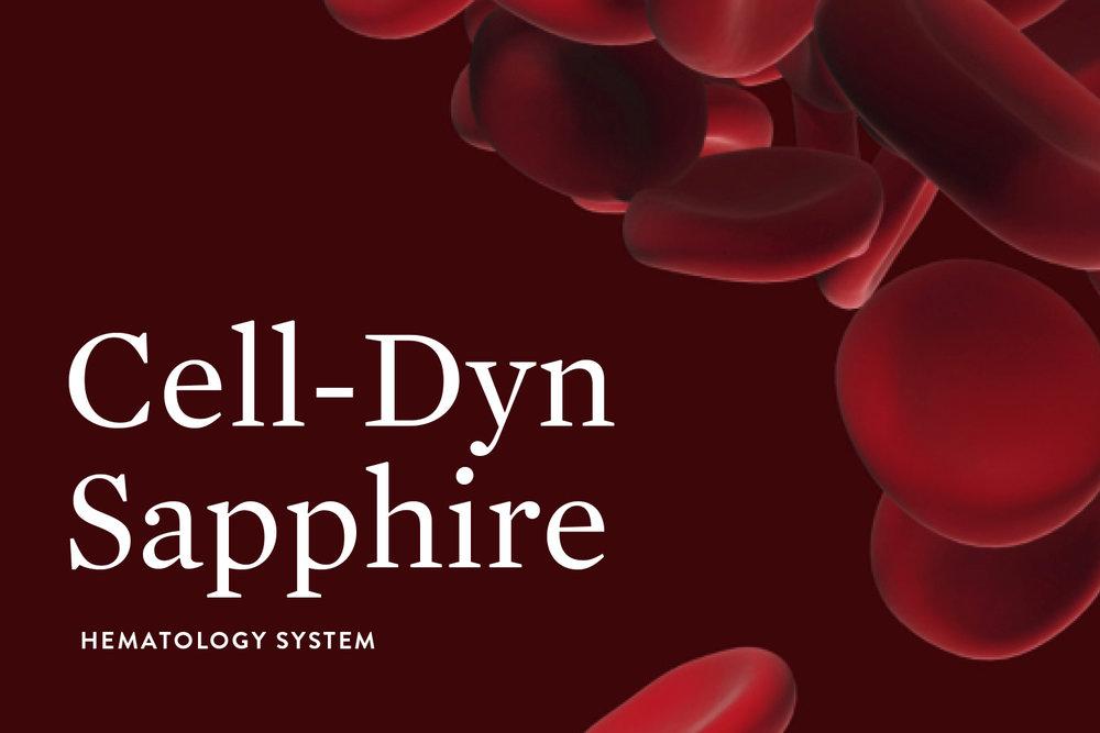 Abbott Diagnostics brochure, detail