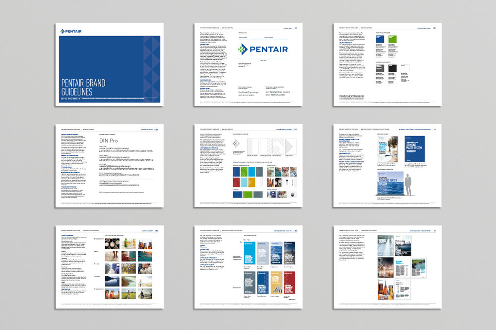 Pentair Brand Guidelines