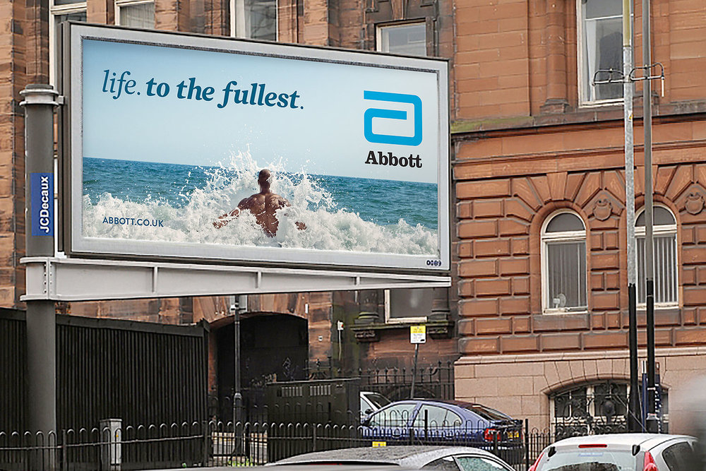 "Abbott ""Life. To the Fullsest."" outdoor campaign"