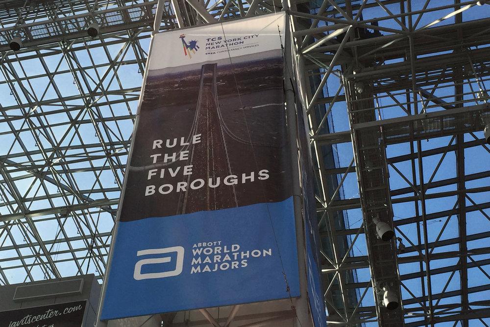 New York City Marathon Expo