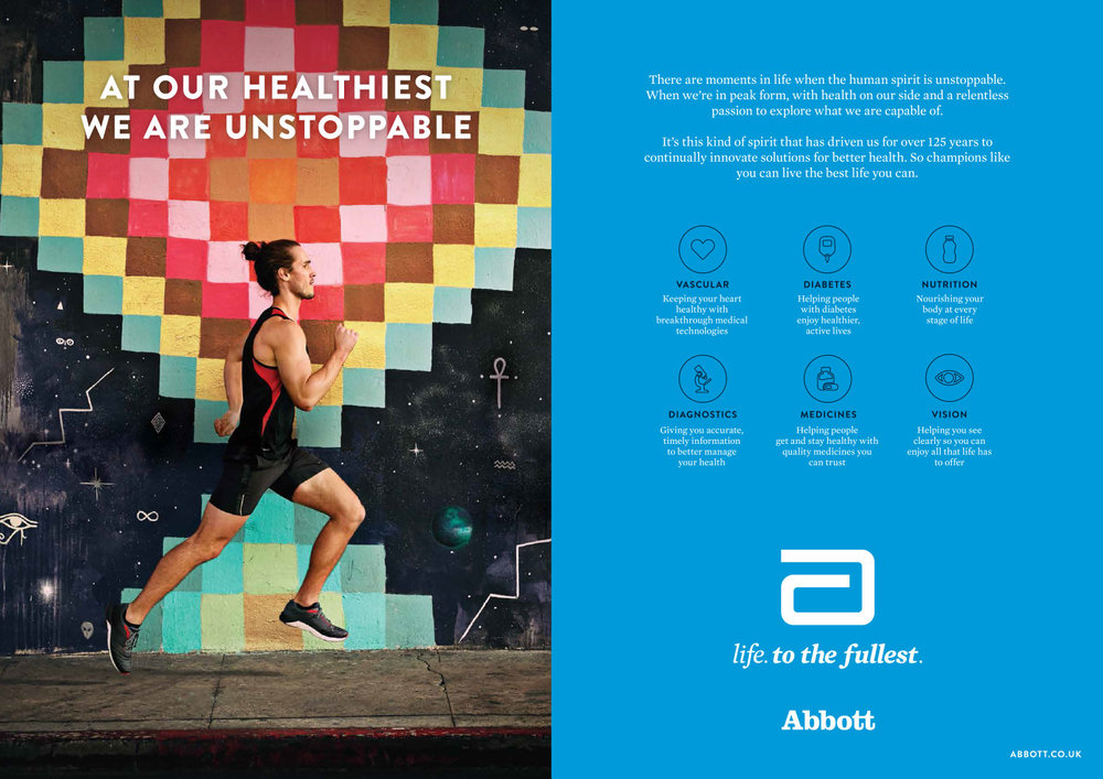 """Abbott """"Life. To the Fullest."""" awareness campaign"""