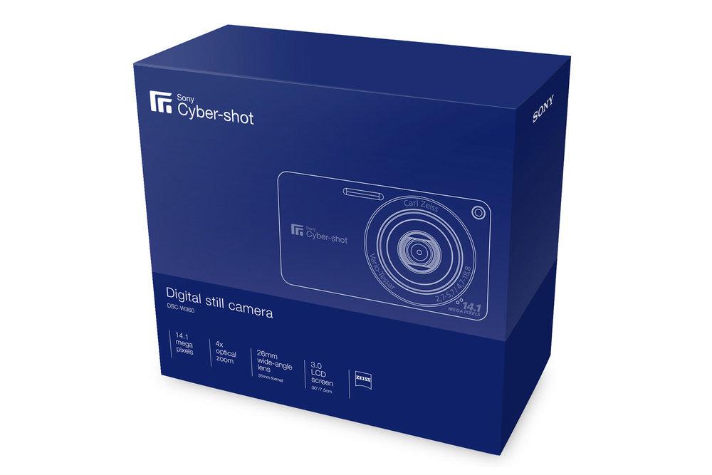 Sony Cyber-shot packaging