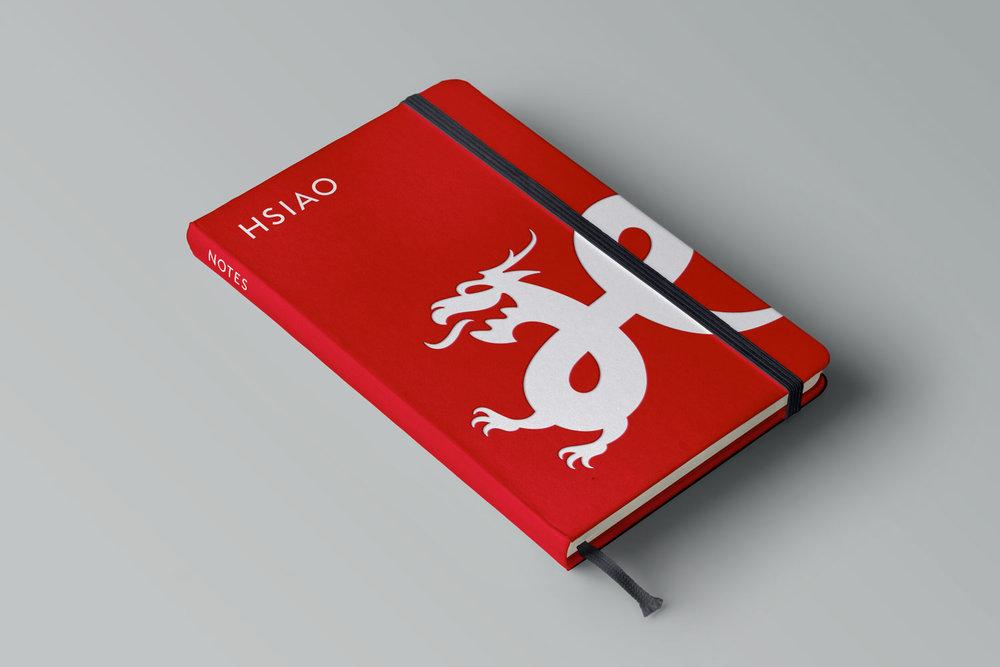 Hsiao Restaurant Group Moleskine notebook