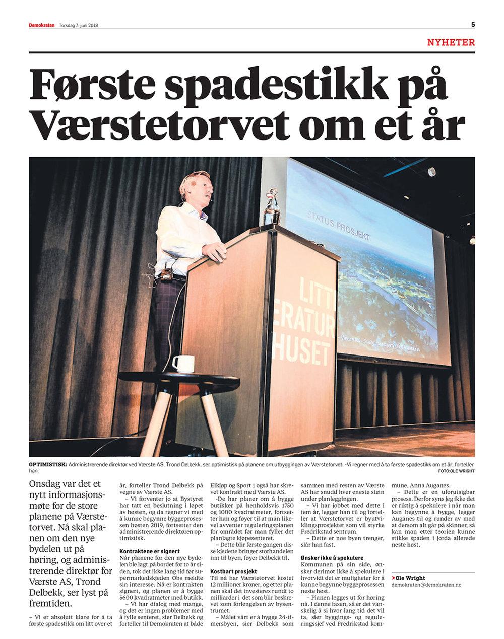 2018-06-7-Demokraten,-Første-spadestikk-på-Værstetorvet-om-et-år.jpg