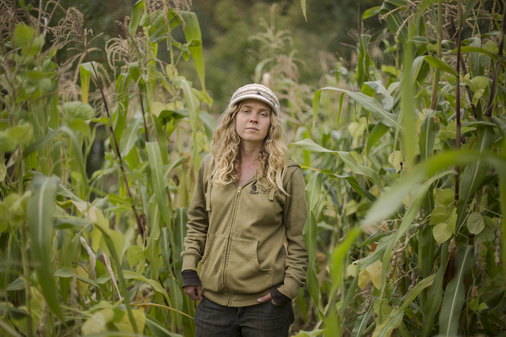 """Farming for me me has been a transition from negative activism to positive activism. Here we create and show the endless possibilities the land has.""  - Farmer Naomi Binzen, Seven Seeds (California)"
