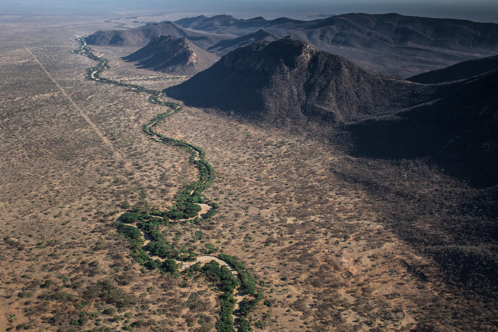 Observable effects of climate change on water resources in Africa include: flooding, drought, change in distribution of rainfall, drying-up of rivers, melting of glaciers and the receding of bodies of water.