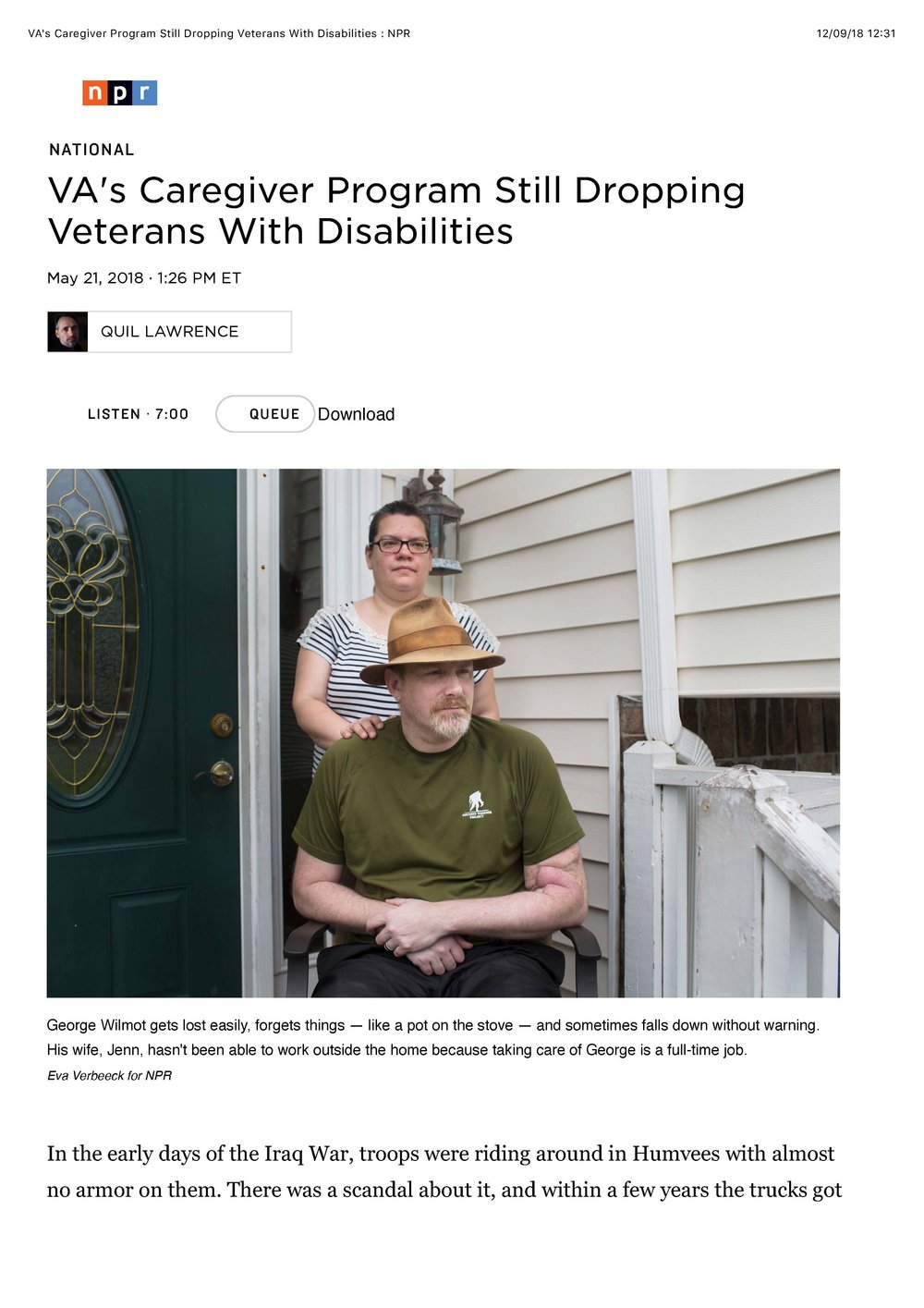 NPR, United States of America