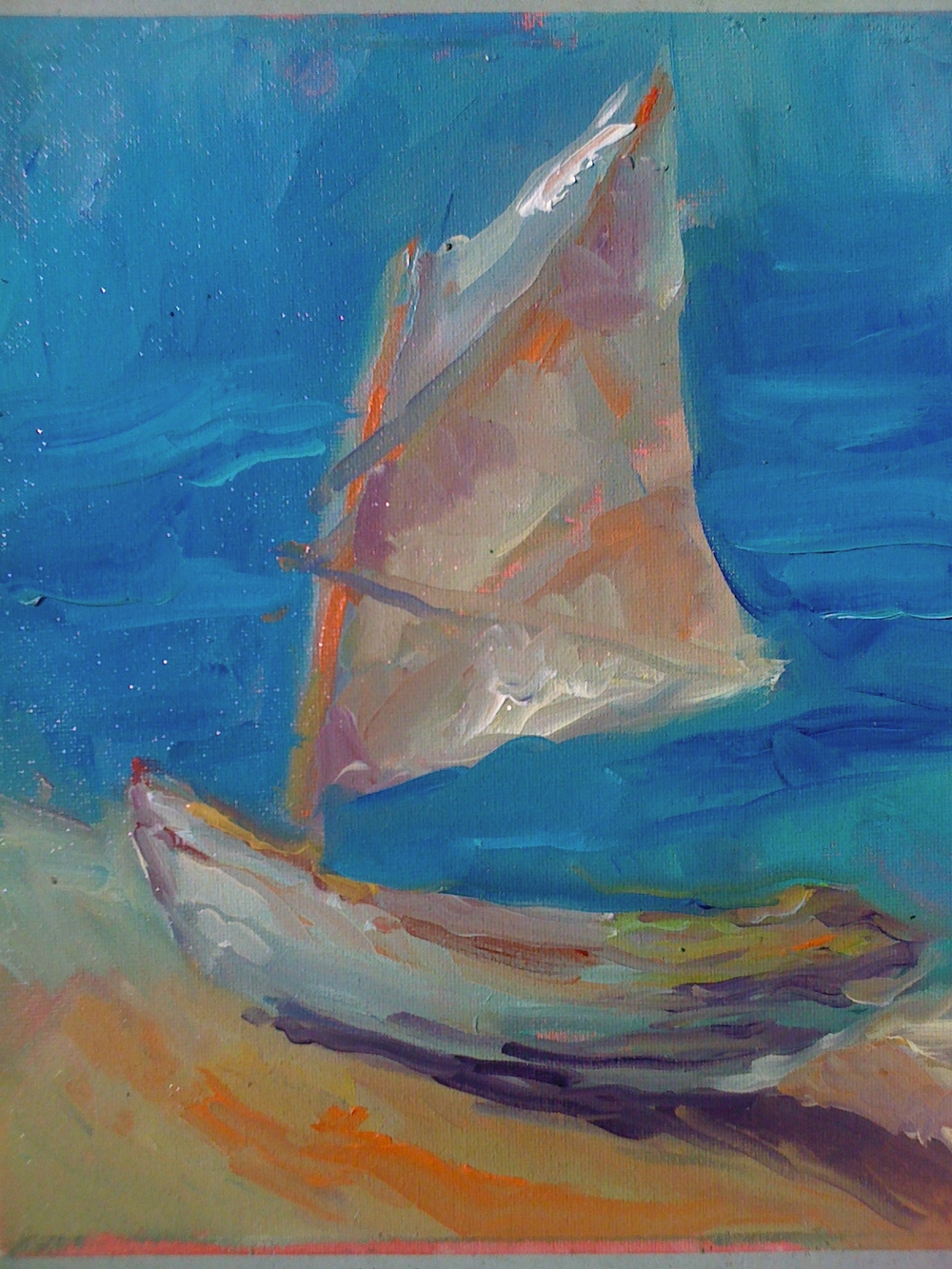 Cat Boat Carrot Island