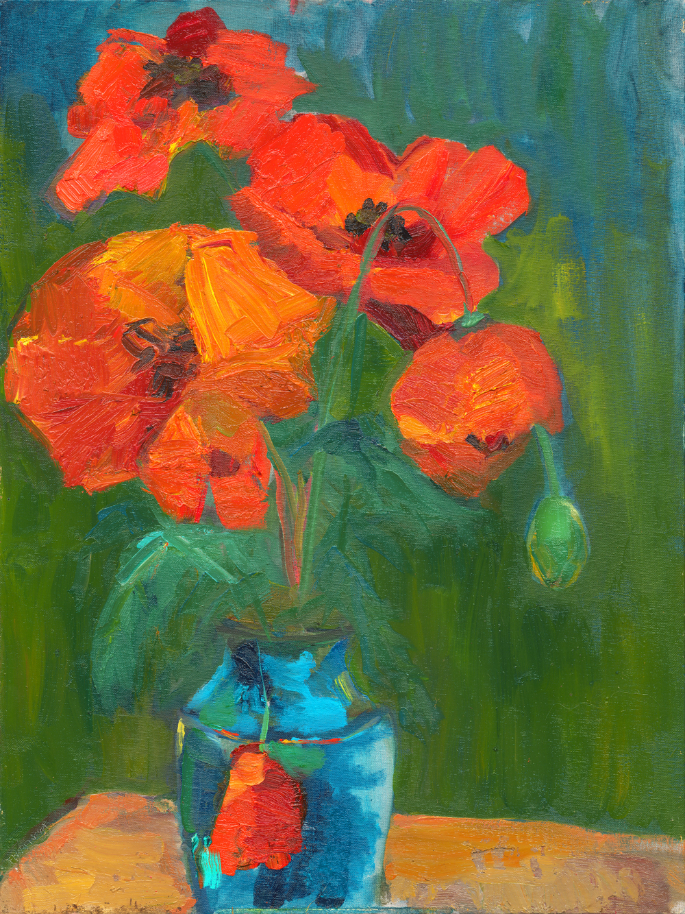Midday Poppies