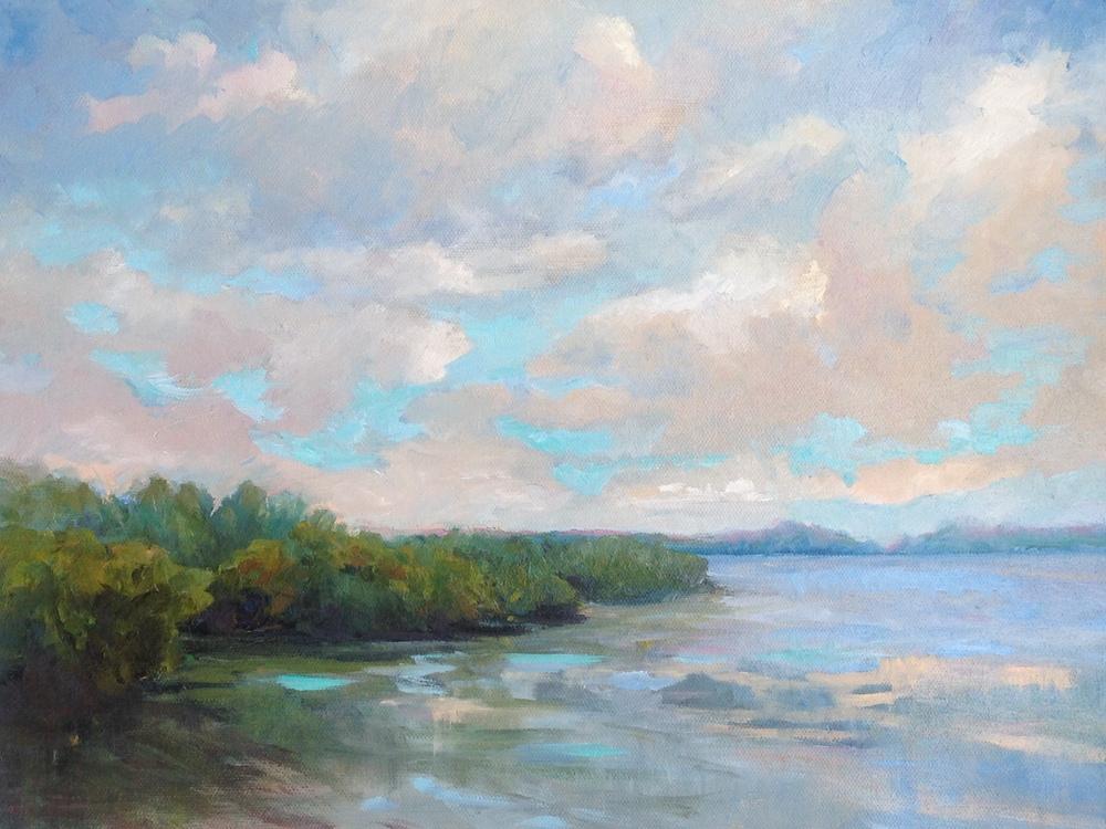 Mangrove Island Sky