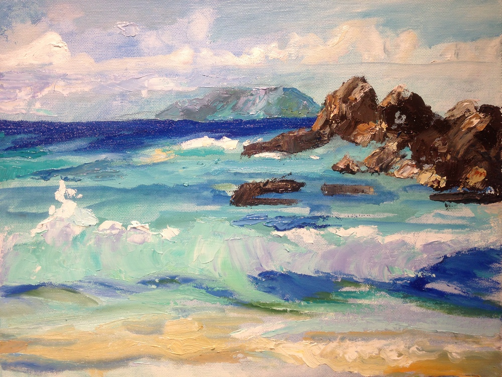 Crashing Surf, St. John