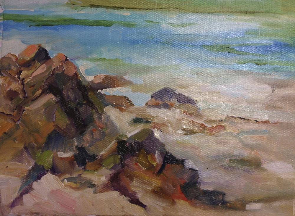 Rock study, St. John, VI