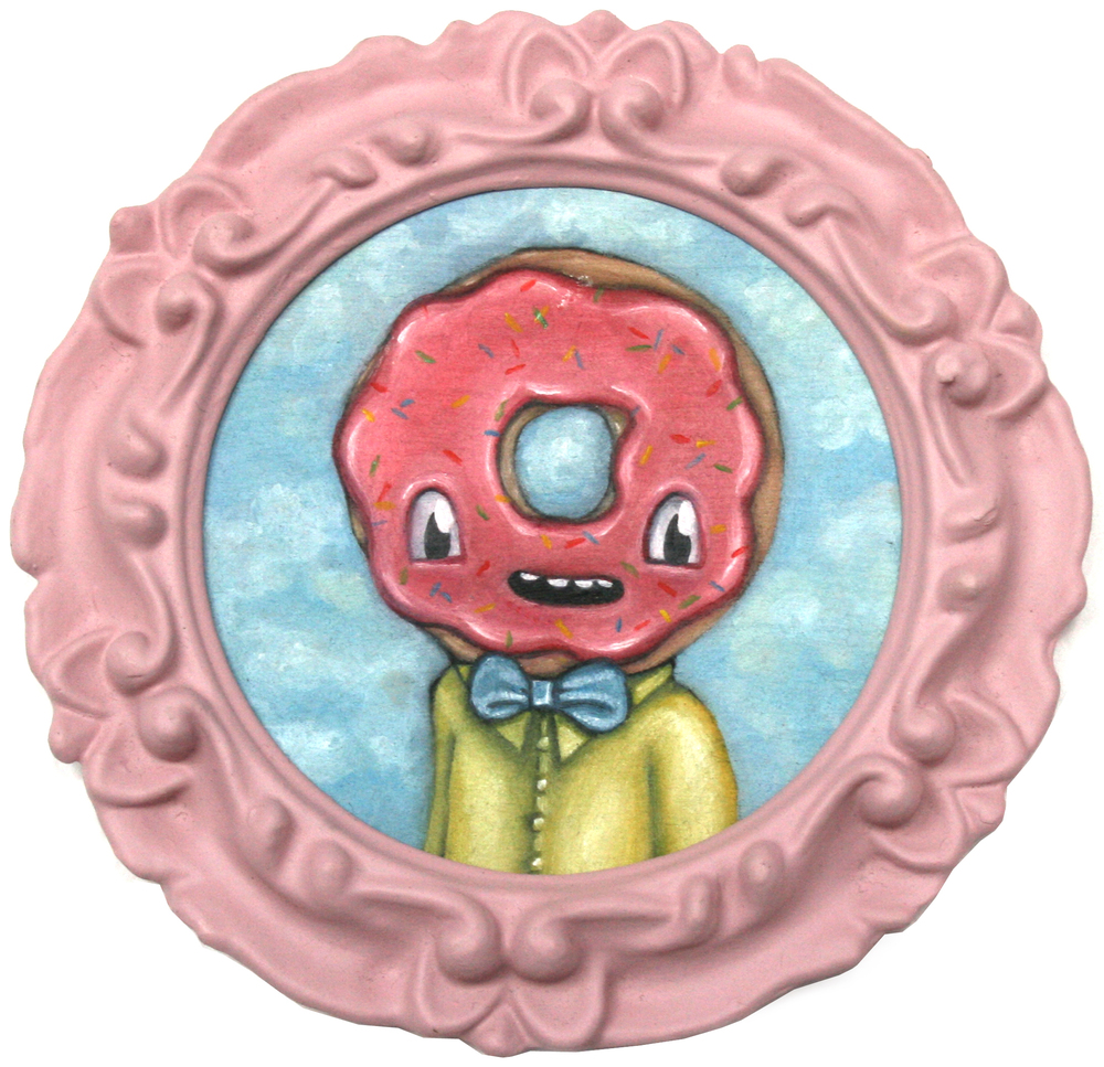 Portrait of a Young Donut