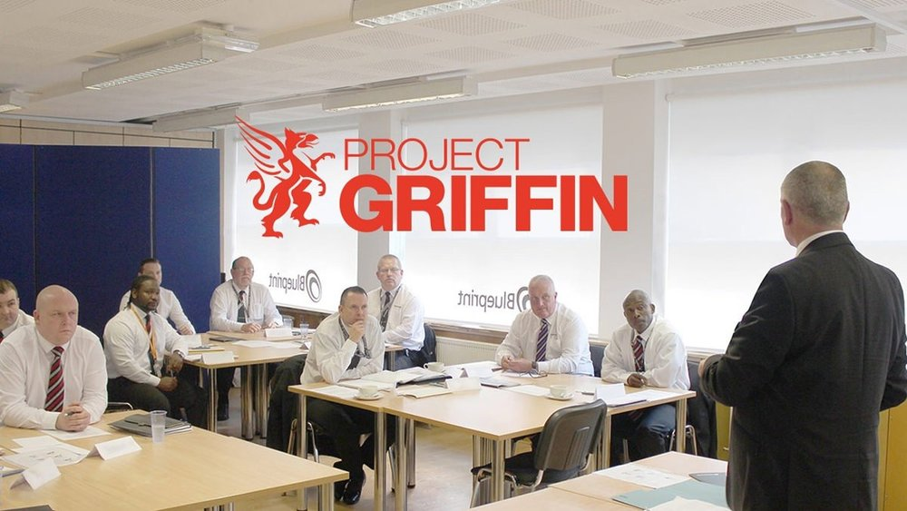 Code 9 Security actively support the Project Griffin initiative and require all of our frontline officers to participate in the Project Griffin training programme.