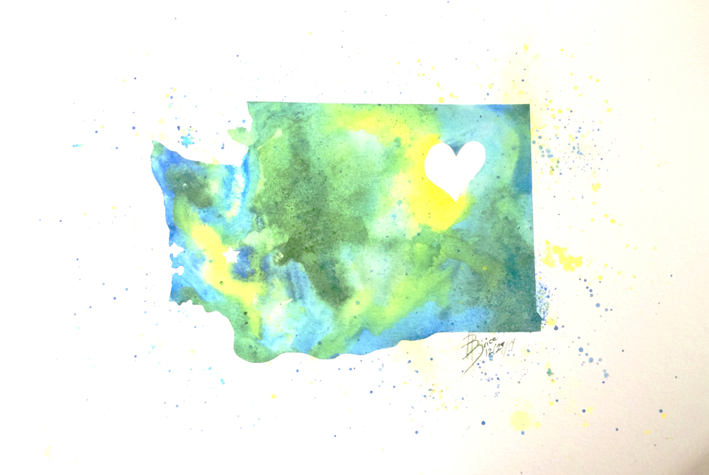 Paint your State - Heart of Washington
