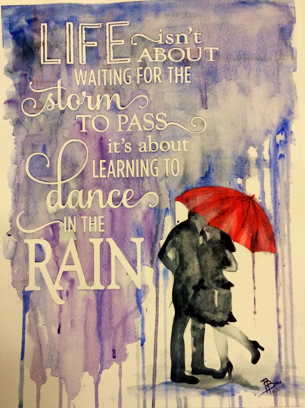 Rain Series - Dance in the Rain or Rainbows