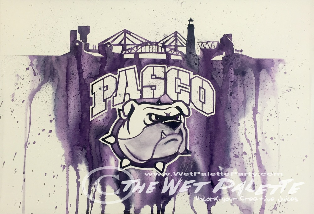 Paint You Team - Pasco Bulldogs