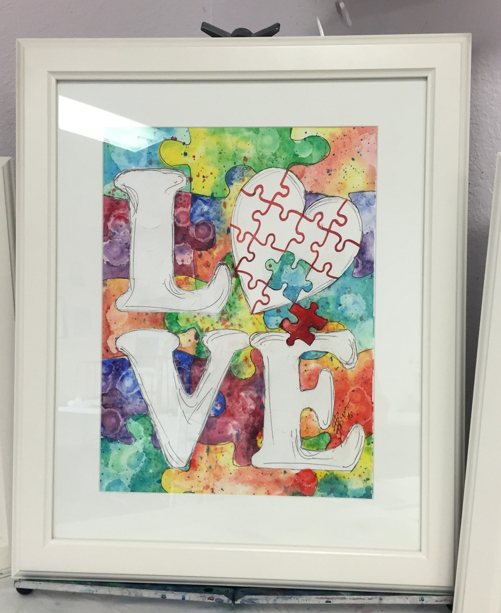 """Love Puzzle"" by Becky Brice"