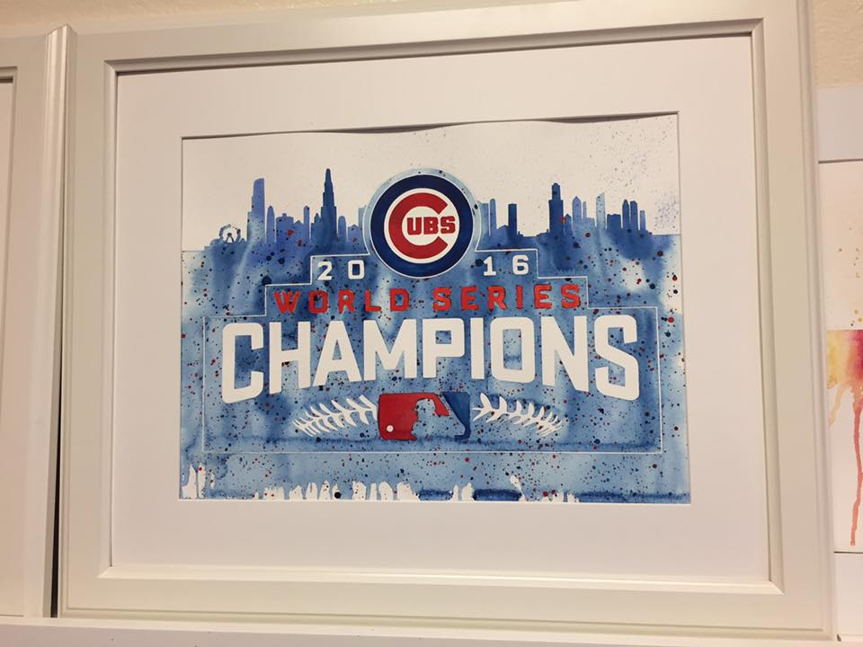 Cubs World Series Framed.jpg