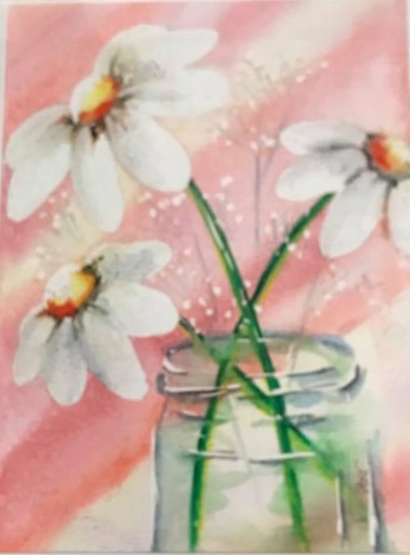 Daisies in a Jar