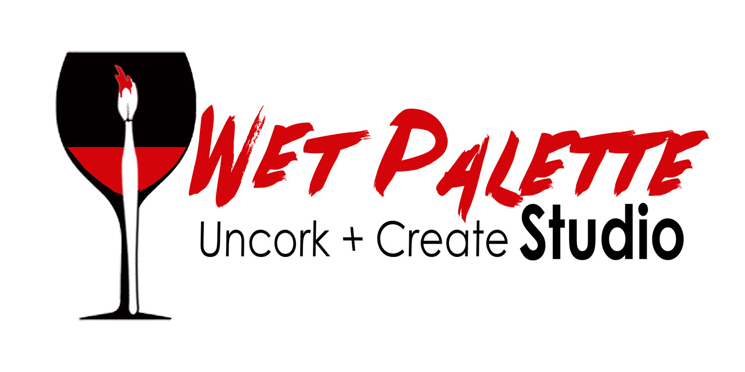 The Wet Palette Uncork & Create Studio