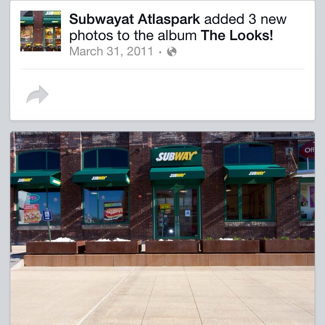 Another Quality built store by my company #Construction6 #atlasterminal #subways the best builder in the game .