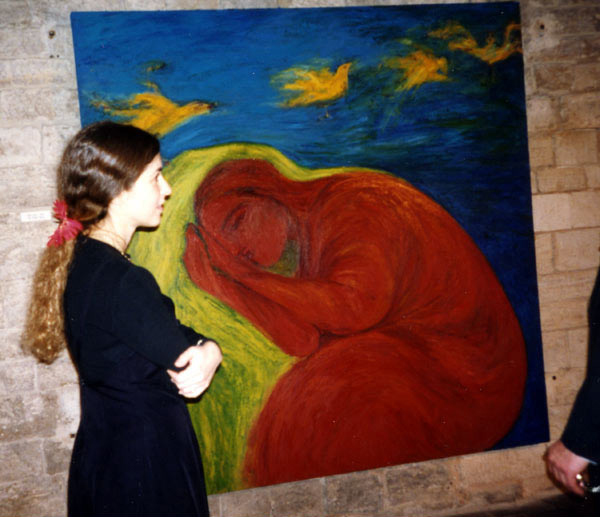 1994, at Kardos's exhibition at Czech Museum of Fine Arts