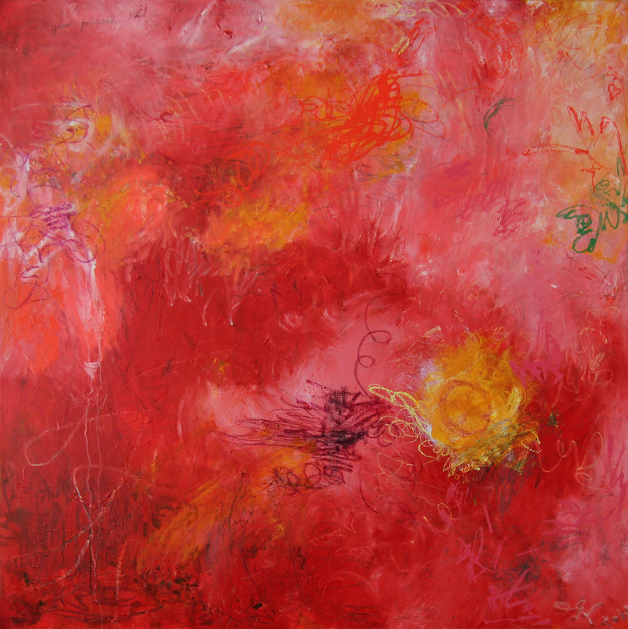 Red, 2011, 170 cm x 170 cm, oil on canvas