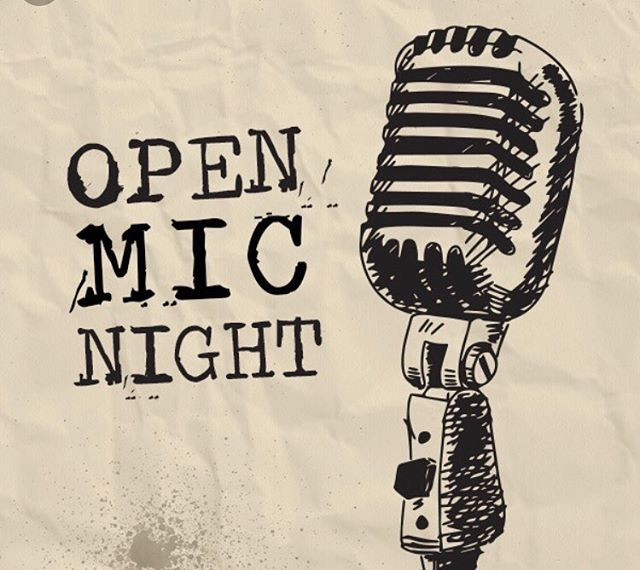Come inside today to warm up with Whiskey Specials and the sweet serenades of open mic!!